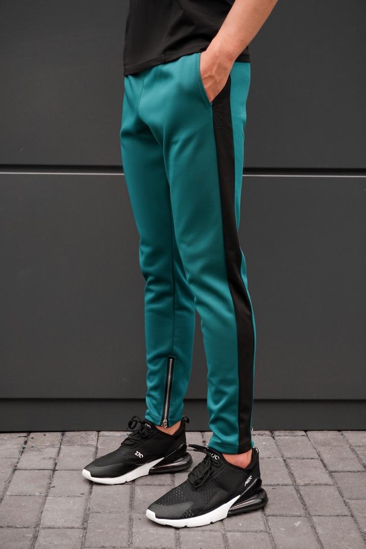 Спортивные штаны beZet with zipp, спортивные штаны с лампасами