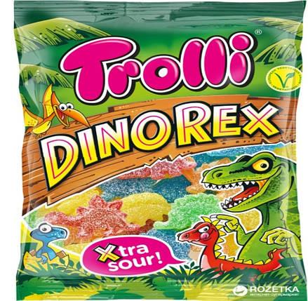 """""""Trolli"""" Жувальні цукерки """"Дінорекс"""" 200г, фото 2"""