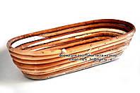 """Корзина для расстойки хлеба из лозы """"овальная"""" 0,6 кг"""