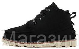 Мужские ботинки UGG Australia David Beckham Boots Black оригинальные Угги Девид Бекхем черные