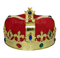 Корона короля красная