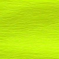 """Папір гофра 2м х50см 20% """" 1В """" №705400 (флюор. жовтий)(10)"""