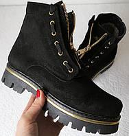 Balmain лезвие зима! Женские сапоги в стиле Бальман ботинки натуральная замша