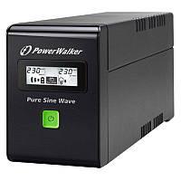 Источник безперебойного питания POWERWALKER UPC VI 600 SW/FR Line-interactive 600VA