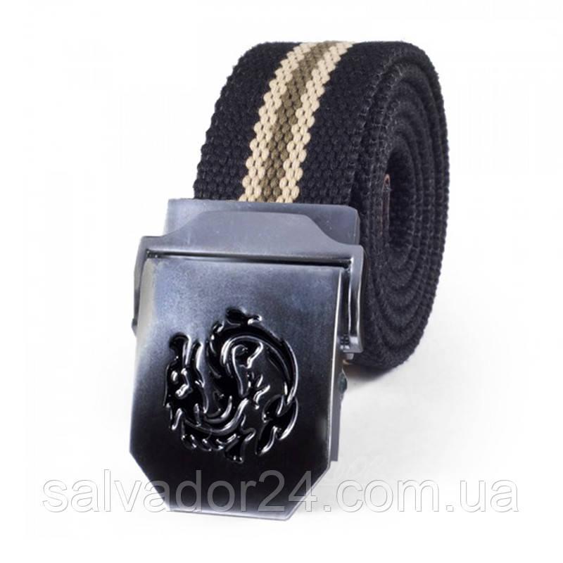Тактический мужской ремень для брюк NORSSOV Dragon черный