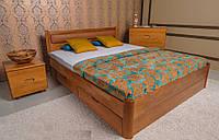 Кровать односпальная Марго с ящиками мягкое изголовье, 90х190(200)