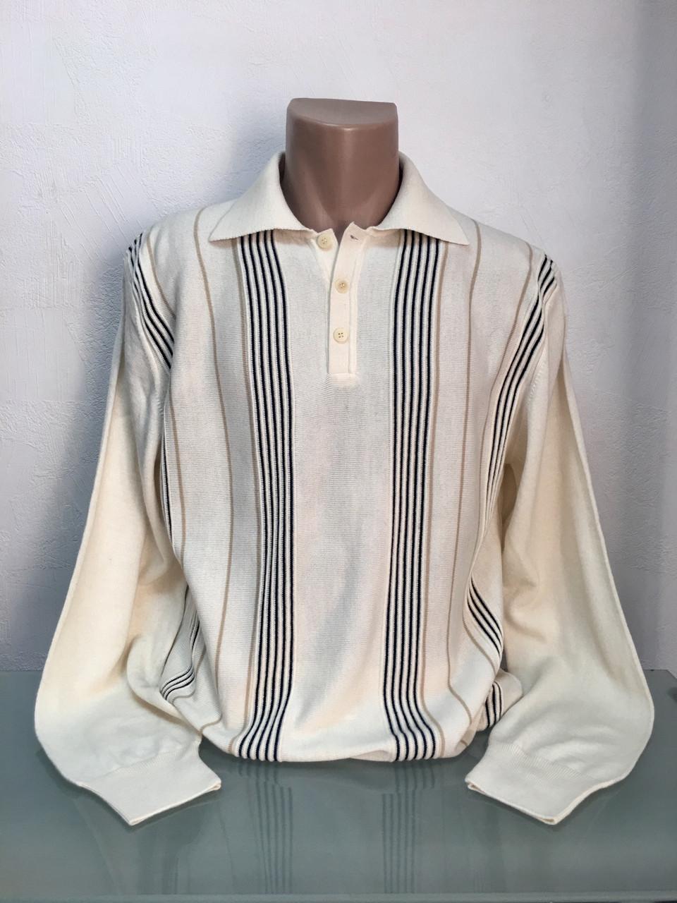 Свитер мужской рубашка белый White House