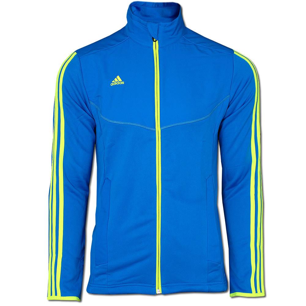 Олимпийка спортивная мужская ADIDAS PREDATOR STYLE Jacke blau V10168  адидас