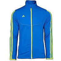 Олимпийка спортивная мужская ADIDAS PREDATOR STYLE Jacke blau V10168  адидас, фото 1