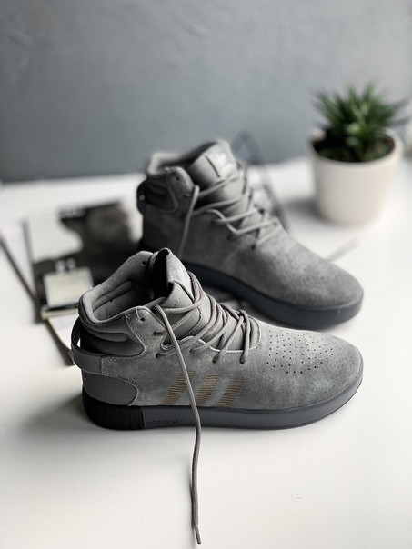 Adidas Tubular Invader Strap Onix, Реплика люкс