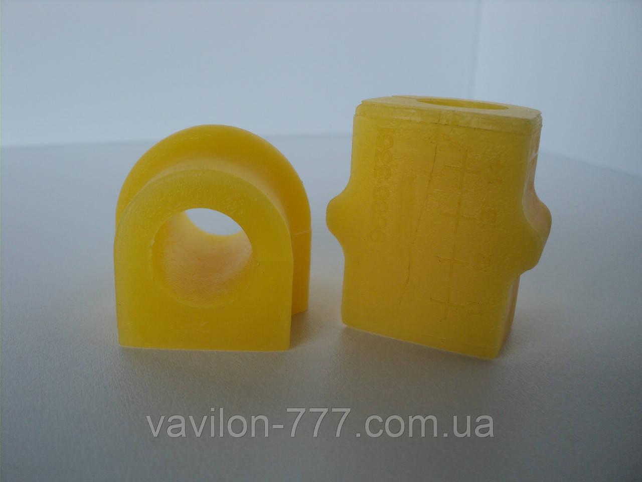 Втулка стабилизатора переднего ID=17 мм AVEO ОЕМ 96870462 полиуретан