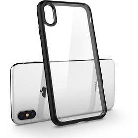"Чохол Spigen Ultra Hybrid iPhone Xs Max {6.5 ""} matte black (065CS25128) EAN / UPC: 8809613766226"