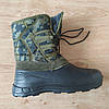 Знижка! 41-й розмір. Чоловічі зимові чоботи комбіновані Dago Alaska. Мужские резиновые зимние сапоги, фото 3