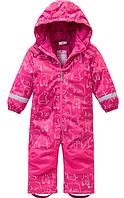 Зимний термокомбинезон Topolinoдля девочки 92 см сдельный розовый