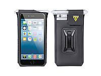 Сумка для телефона Topeak SmartPhone DryBag iPhone 6plus/6s plus/7plus,с фиксатором F55, 65г, чёрная