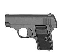Детский игрушечный пистолет с пульками ZM 03: металлический корпус, фото 1