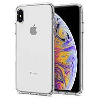 Чехол Spigen для iPhone XS Max, Liquid Crystal, Crystal Clear (065CS25122)
