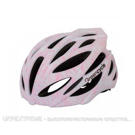 Шлем Green Cycle Alleycat размер 58-61см серо-розовый (ОРИГИНАЛ)