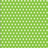 """Салфетка Silken 3-слойная """"Горошки м"""" салатовая 20шт 33*33см, фото 2"""