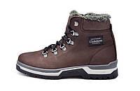 Кожаные  мужские зимние ботинки Clubshoes Sportwear Brown, фото 1