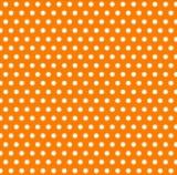 """Салфетка Silken 3-слойная """"Горошки м"""" оранж 20шт 33*33см"""