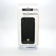 Чехол Spigen La Manon Classy iPhone XS Max black (065CS24958) EAN/UPC: 8809613764796