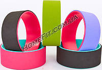 Колесо-кольцо для йоги Fit Wheel Yoga (TPE, PVC), фото 1
