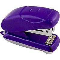 """Степлер """" Norma """" 16 листов 18 мм №4052 / 04021297 мини, фиолетовый и антистеплер (12) №24 / 6"""