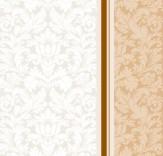 """Салфетка Silken 3-слойная """"Дамаск"""" Беж с печатью 20шт 33*33см"""