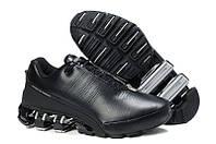 Мужские кроссовки Adidas Porsche Design IV черные (кожа)