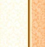 """Салфетка Silken 3-слойная """"Дамаск"""" Персик с печатью 20шт 33*33см, фото 2"""