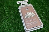 Чехол накладка Silicone case для  Samsung J4 2018