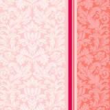 """Салфетка Silken 3-сл, """"Дамаск"""" Розовый с печатью 20шт 1/4 33*33см, фото 2"""