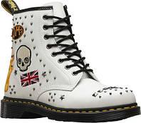 Мужские ботинки Dr. Martens 1460 8-Eye Boot White Smooth Rockabilly Leather 7f70dd313fdfa