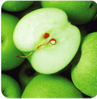 "Салфетка Silken 3-сл, ""Зелені яблука"" с печатью 20шт 33*33см, фото 2"