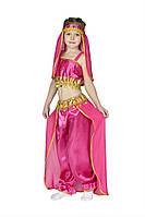 Детский карнавальный костюм Принцесса Жасмин, восточная красавица ( штаны, топик и повязка на голову)