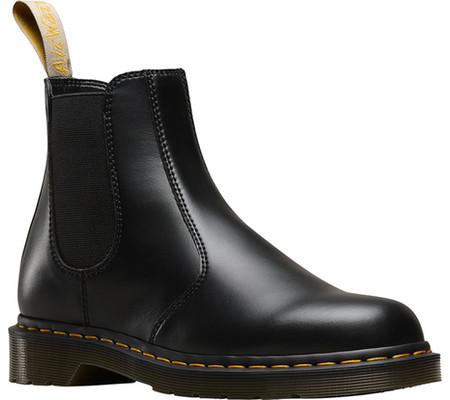 63acbdfd Мужские ботинки Dr. Martens 2976 Chelsea Boot Black Felix Rub Off Vegan -  SaleUSA