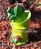 Подставка для цветов кашпо Жаба на бамбуке, фото 2