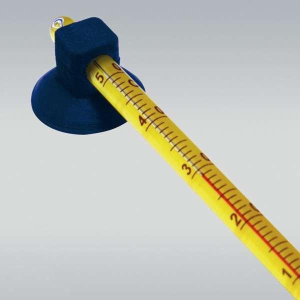 Аквариумный термометр стеклянный на присоске Resun (Ресан) RST-04 градусник
