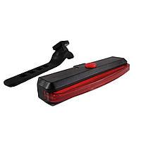 """Задний фонарь """"Красная полоса"""" USB для велосипеда"""
