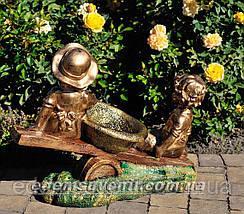Подставка для цветов кашпо Качели, фото 3
