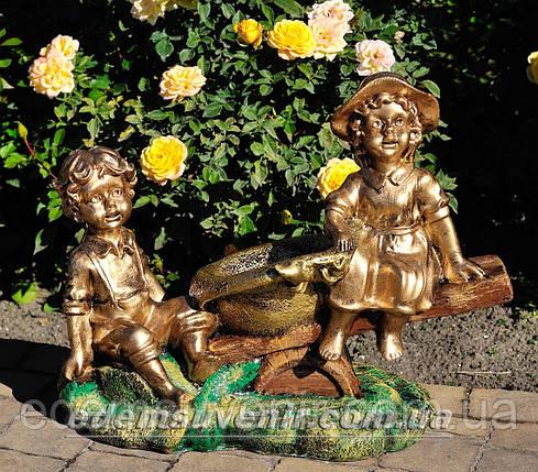 Подставка для цветов кашпо Качели, фото 2