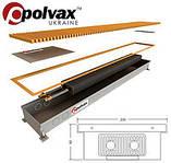 Конвекторы внутрипольные отопления Polvax (Полвакс)
