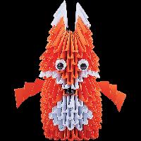 Творчество Модульное оригами Лисичка орігамі Стратег Strateg, 203-11  002433