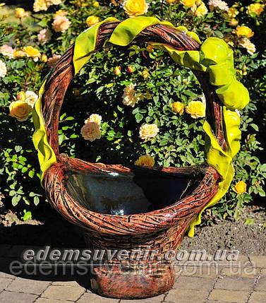 Подставка для цветов кашпо Корзина большая, фото 2