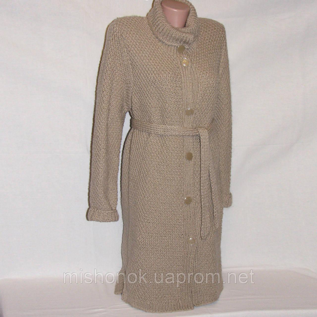 новый кардиган вязаное пальто полушерсть р46 48 купить по