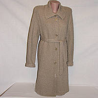Новый кардиган, вязаное пальто, полушерсть, р.46-48