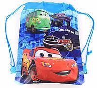 Сумка-мешок/рюкзак для спортивной формы и сменной обуви с мультяшным принтом «Тачки»