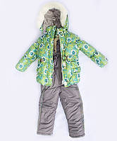 Детский зимний костюм-комбинезон Ромашка
