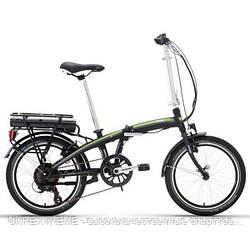 """Велосипед Lombardo 17' 20"""" E-Ischia 20"""" 17""""/44см black/green (ОРИГИНАЛ)"""